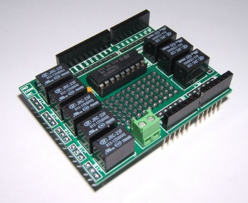 RKRelayShield Relay Module - Great for Atmel, Arduino & Raspberry PI - Self Build Kit